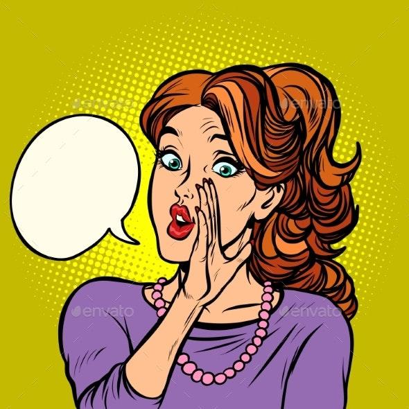 Women Gossip Secret Rumor - People Characters