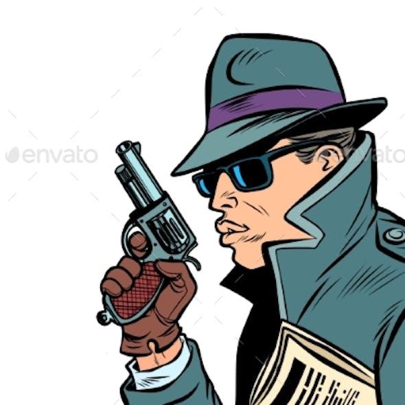 Gun Spy Secret Agent