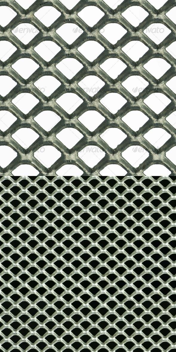 Metal mesh seamless pattern - Industrial / Grunge Textures