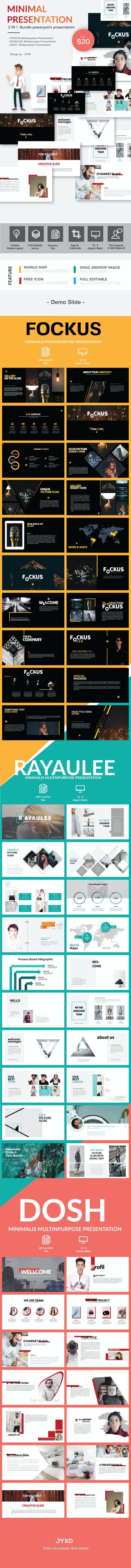 Minimal Bundle Presentation - Multipurpose Presentation Template - PowerPoint Templates Presentation Templates