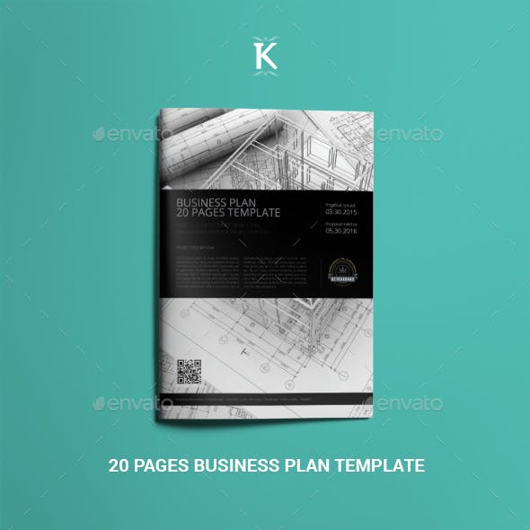 20 Pages Business Plan Template