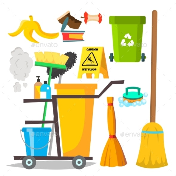 Cleaning Items Vector - Miscellaneous Vectors