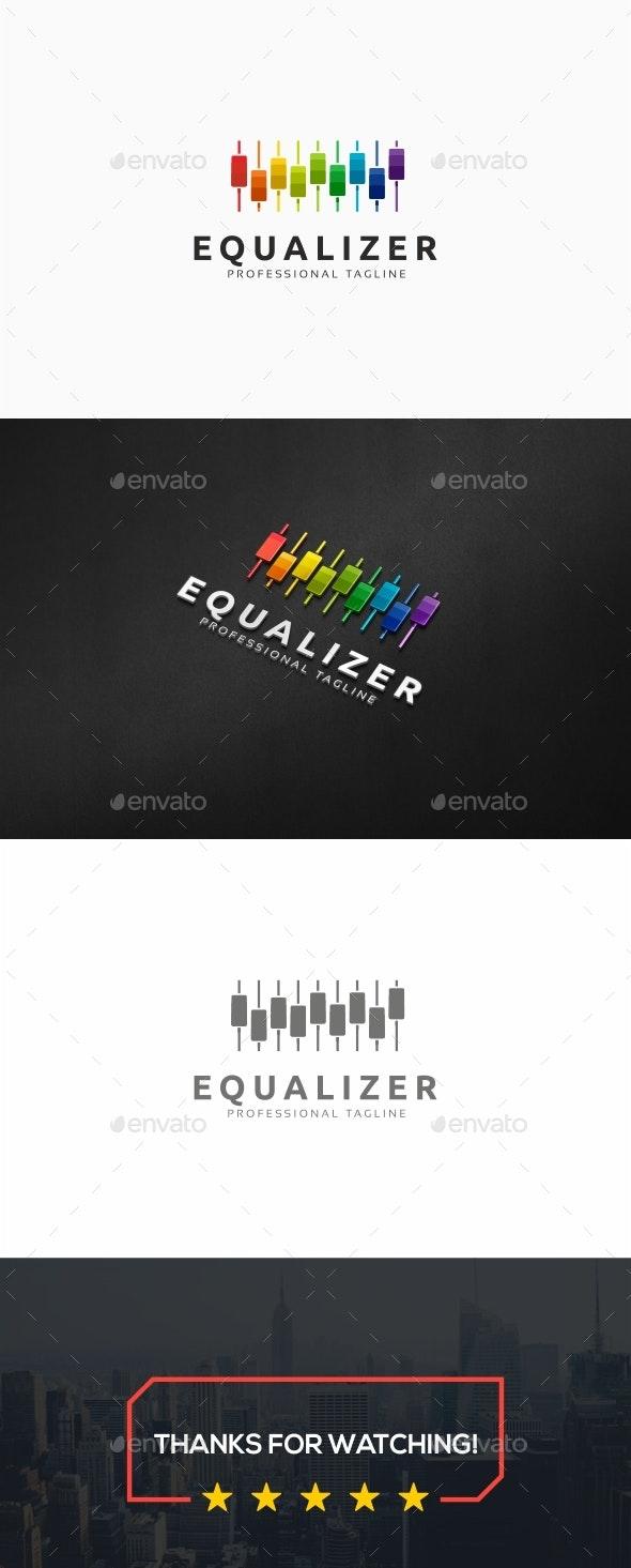 Music Equalizer Logo - Symbols Logo Templates