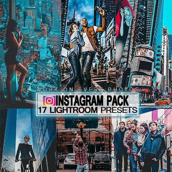 17 Instagram Pack LIghtroom Presets V2