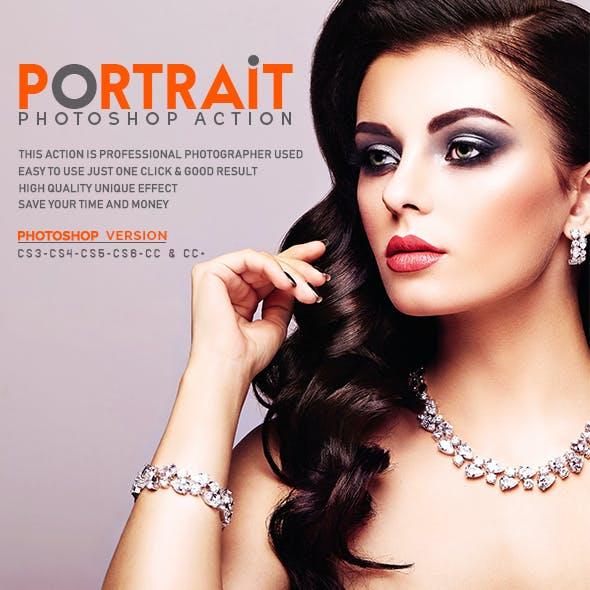 Portrait Photoshop Action