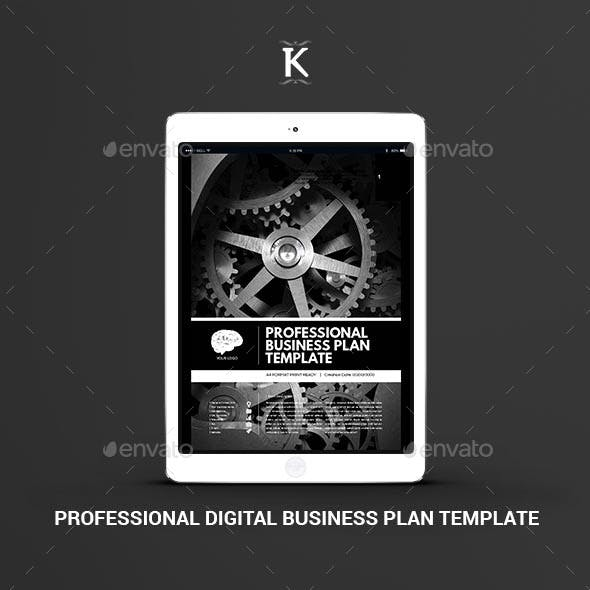 Professional Digital Business Plan Template