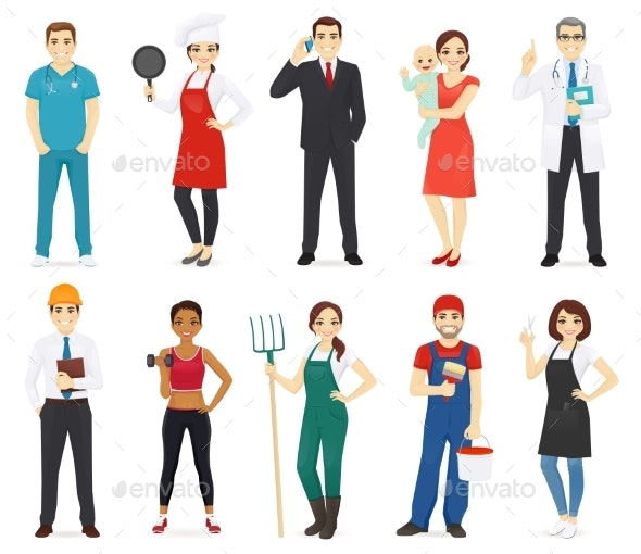 People Profession Collection - People Characters
