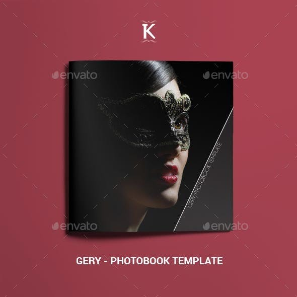 Gery - Photobook Template