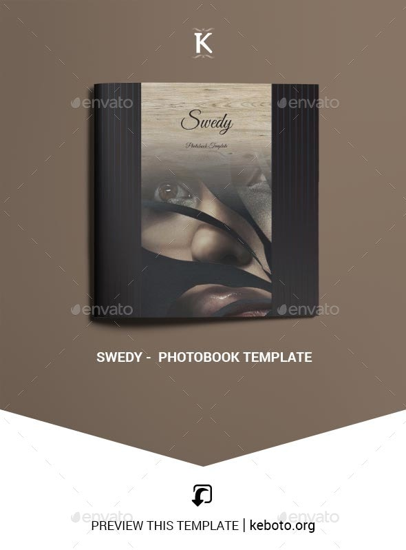 Swedy - Photobook Template - Photo Albums Print Templates