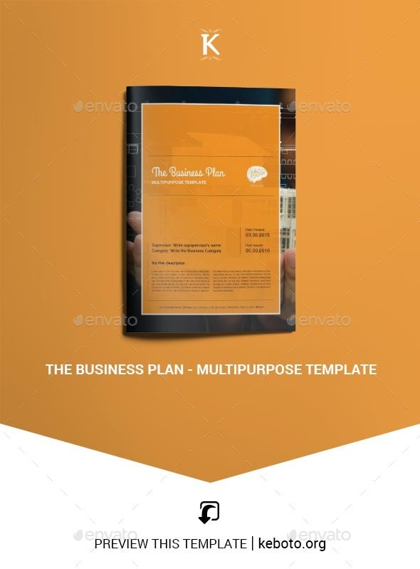 The Business Plan - Multipurpose Template - Miscellaneous Print Templates