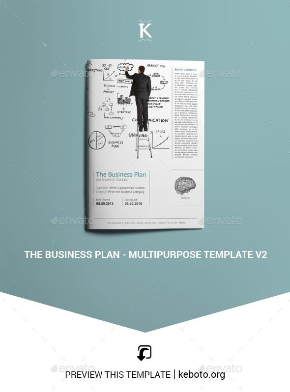 The Business Plan - Multipurpose Template v2 - Miscellaneous Print Templates