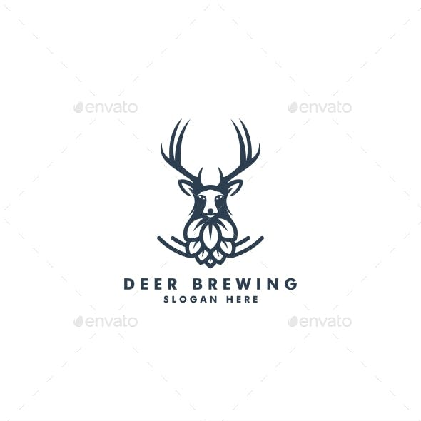 Deer Brewing Logo