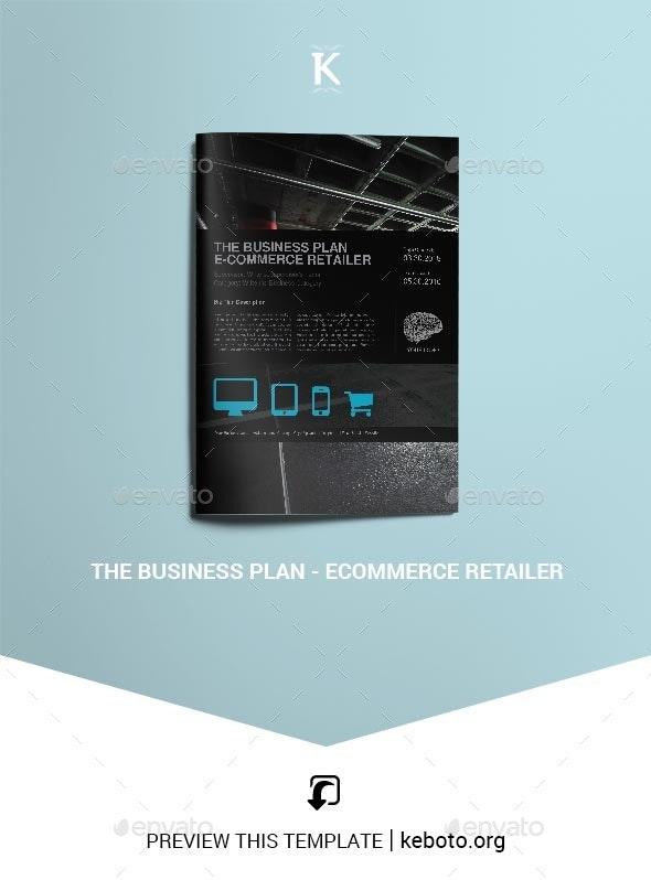 THE Business Plan - E-Commerce Retailer - Miscellaneous Print Templates