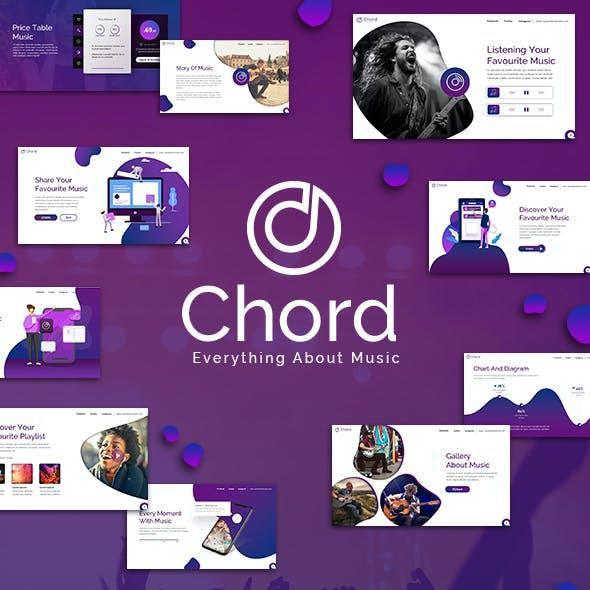 Chord Music Keynote Template