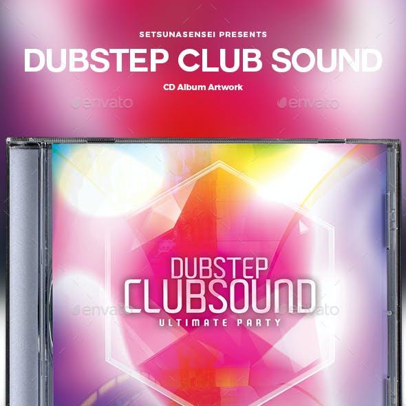 Dubstep Club Sound CD Album Artwork