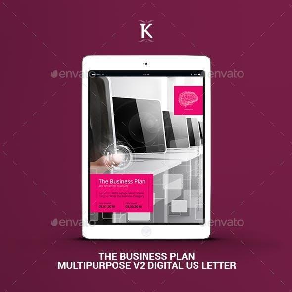 THE Business Plan Multipurpose v2 Digital Letter