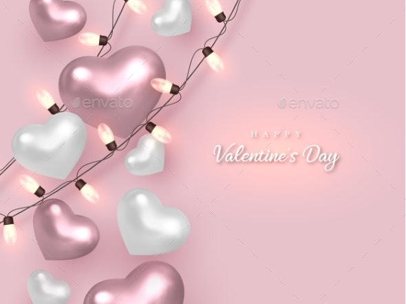Valentines Day Holiday Banner - Valentines Seasons/Holidays