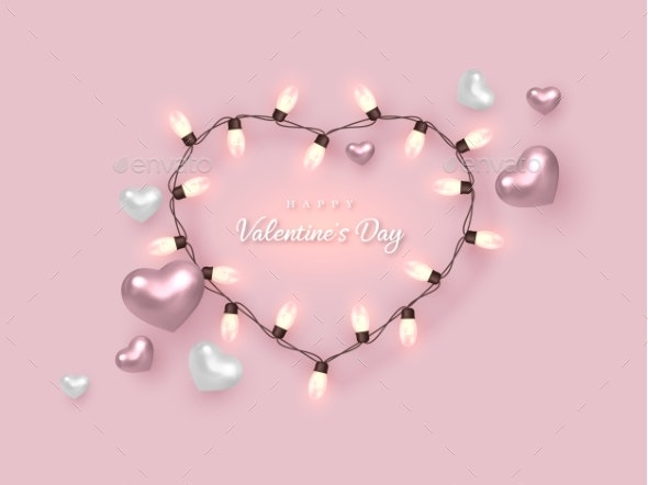 Valentines Day Holiday Banner - Valentines Seasons/Holidays