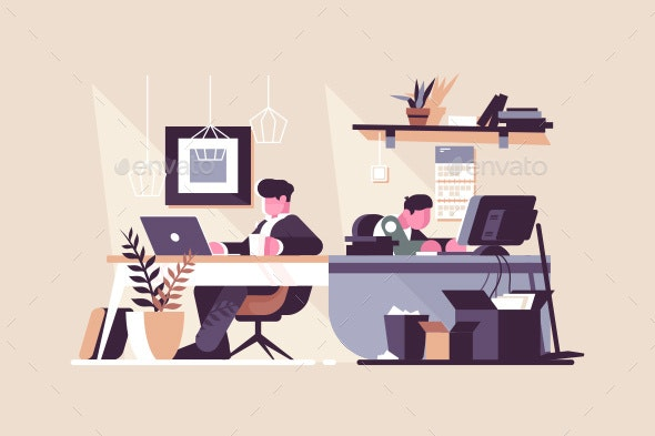 Creative Office Co-Working Center - Concepts Business