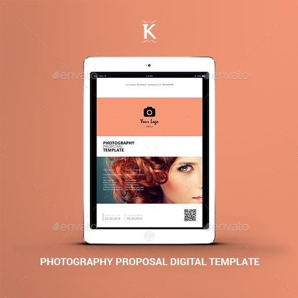Photography Proposal Digital Template