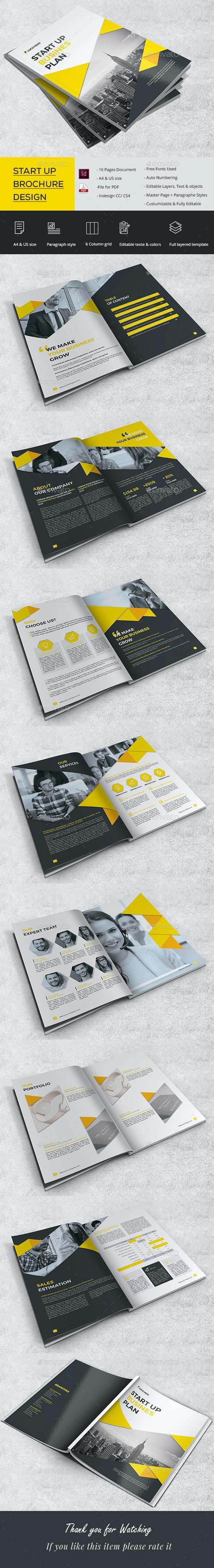 Startup Brochure - Corporate Brochures