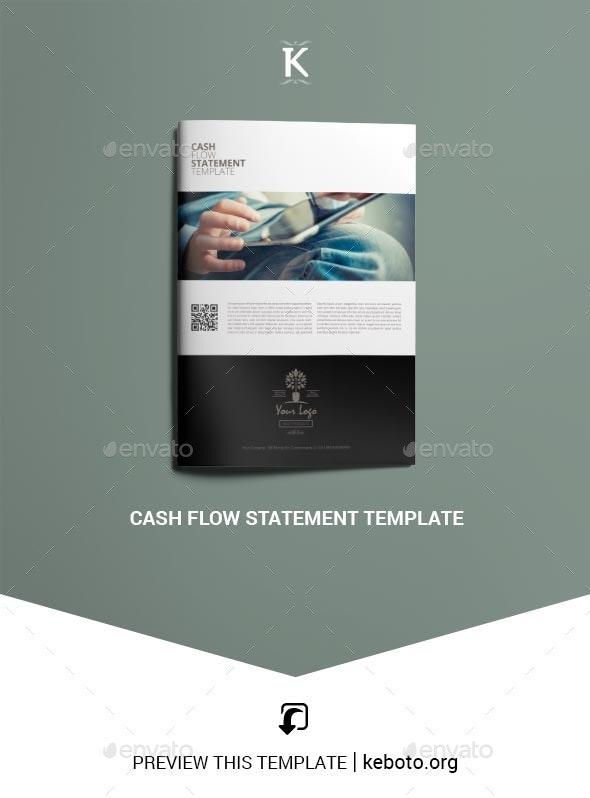 Cash Flow Statement Template - Miscellaneous Print Templates