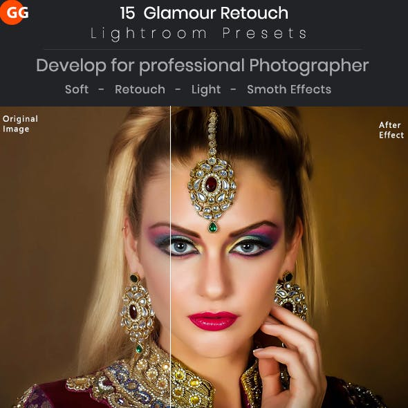 15 Glamour Retouch Lightroom Presets