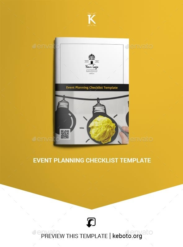 Event Planning Checklist Template - Miscellaneous Print Templates