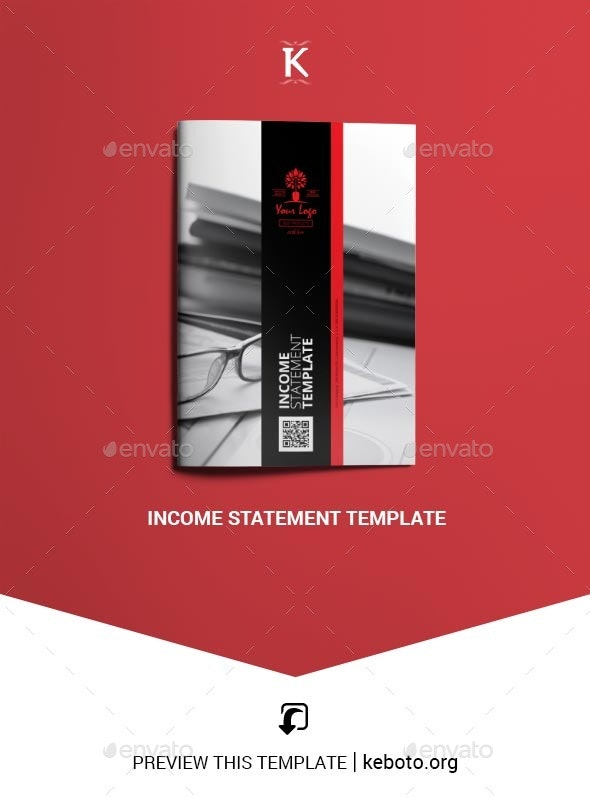 Income Statement Template - Miscellaneous Print Templates