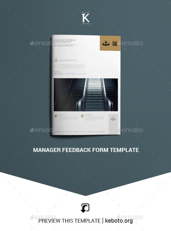 Manager Feedback Form Template - Miscellaneous Print Templates
