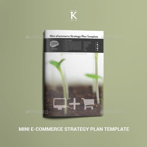 Mini eCommerce Strategy Plan Template