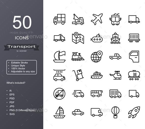 Transport - Icons