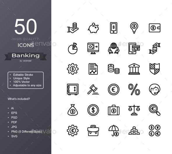 Banking - Icons