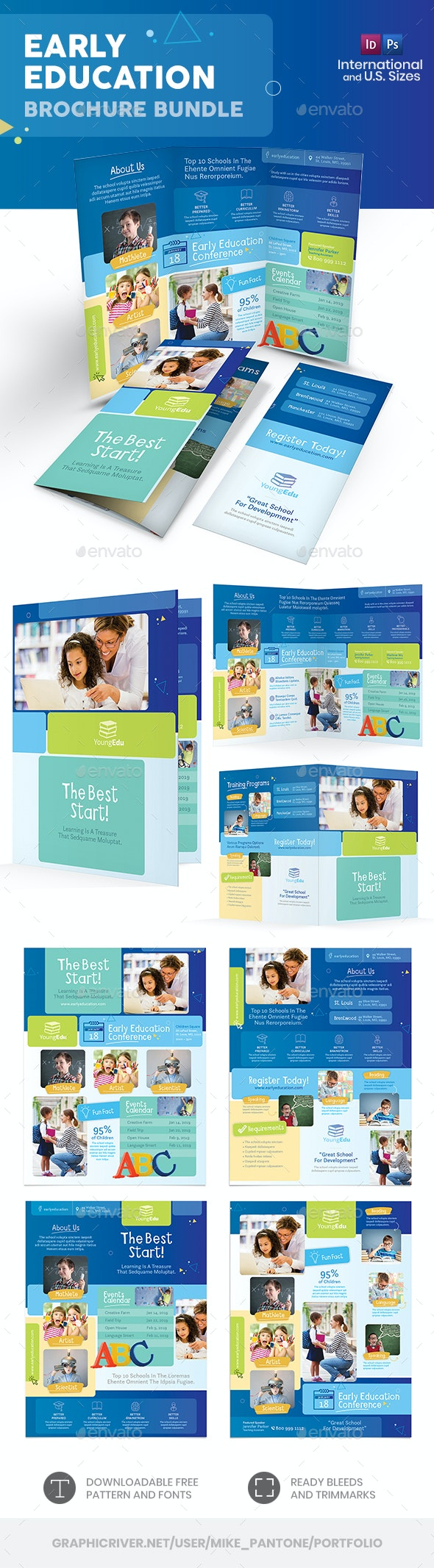 Early Education Print Bundle - Informational Brochures