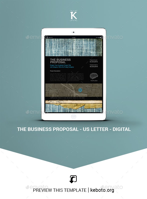 THE Business Proposal - US Letter - Digital - ePublishing