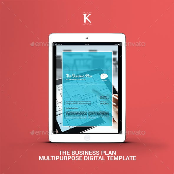 THE Business Plan - Multipurpose Digital Template