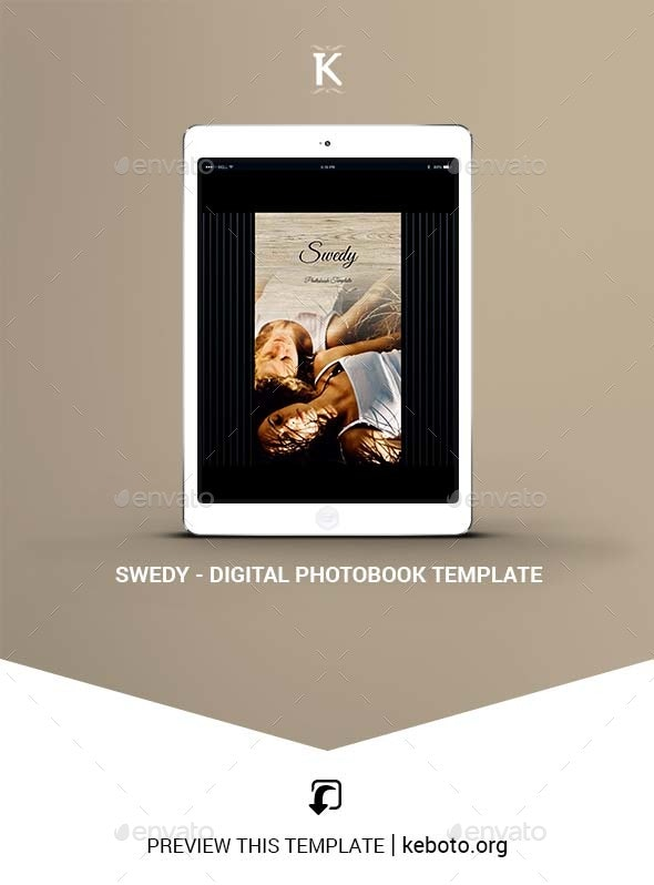 Swedy - Digital Photobook Template - ePublishing