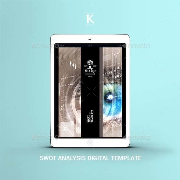 SWOT Analysis Digital Template