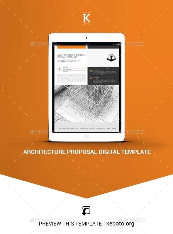 Architecture Proposal Digital Template - ePublishing