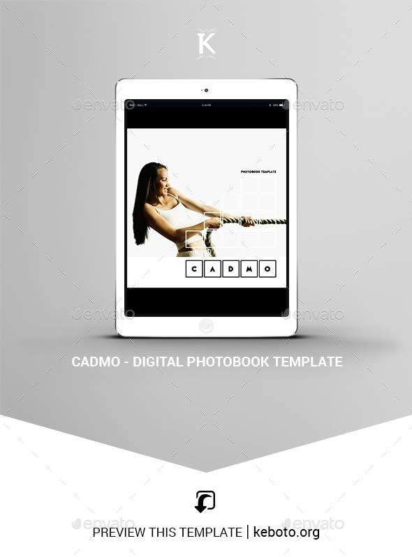 Cadmo - Digital Photobook Template - ePublishing