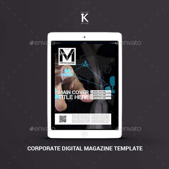 Corporate Digital Magazine Template