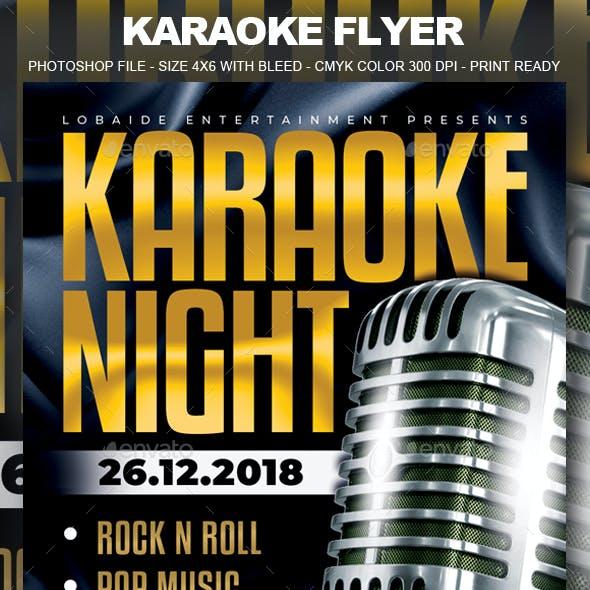 Karaoke Flyer