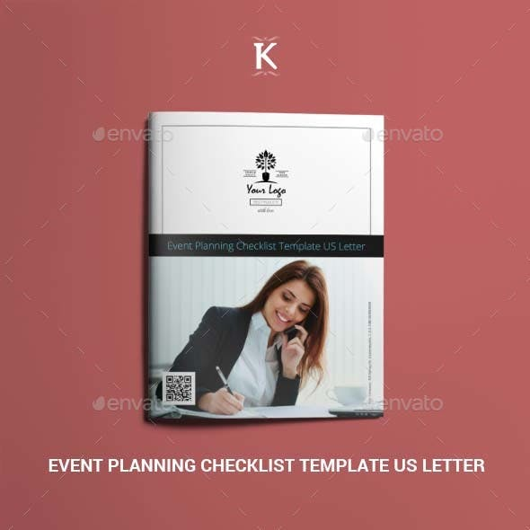 Event Planning Checklist Template US Letter