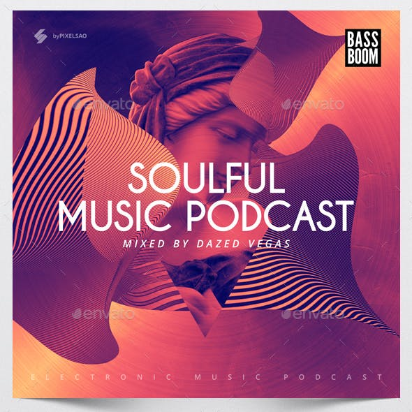 Soulful - Music Album Cover Artwork Template