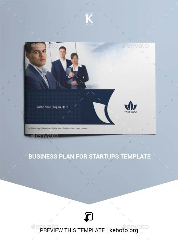 Business Plan for Startups Template - Miscellaneous Print Templates