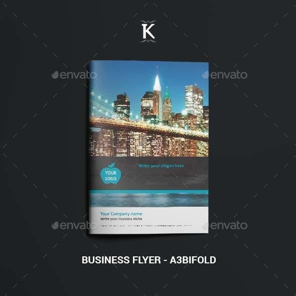 Business Flyer - A4 Bifold
