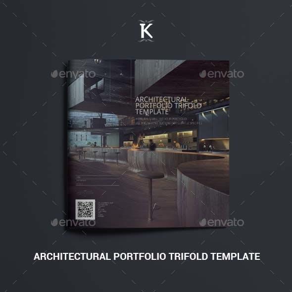 Architectural Portfolio Trifold Template