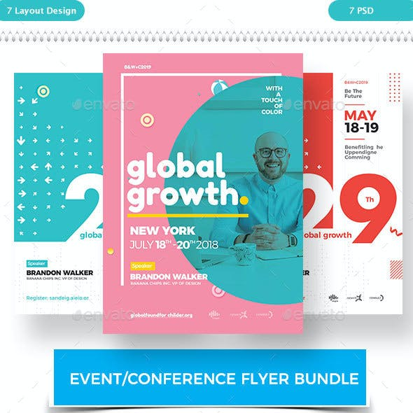 Event/Conference Flyer Bundle