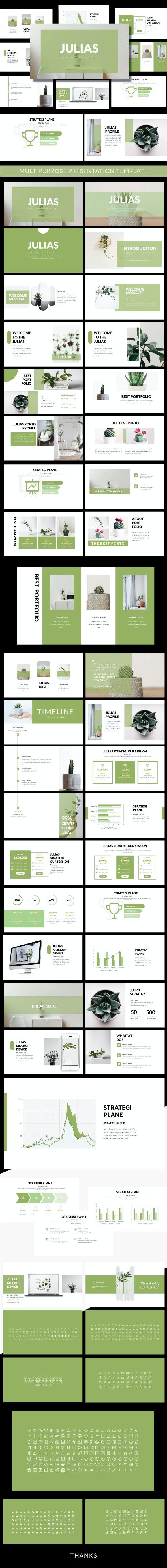 Julias - Creative Presentation - Business PowerPoint Templates