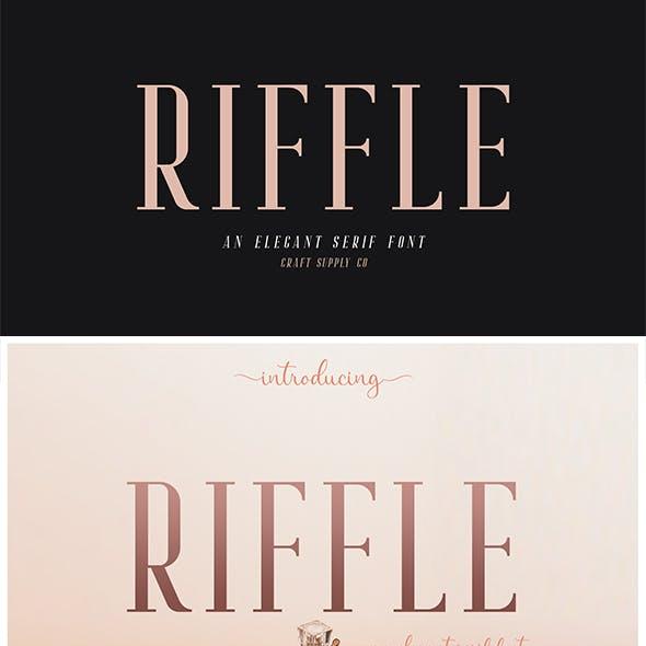 Riffle Font Family